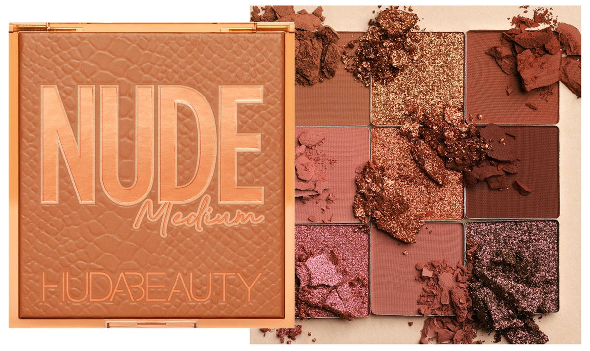 "Huda Beauty Nude Obsessions in ""Medium"""