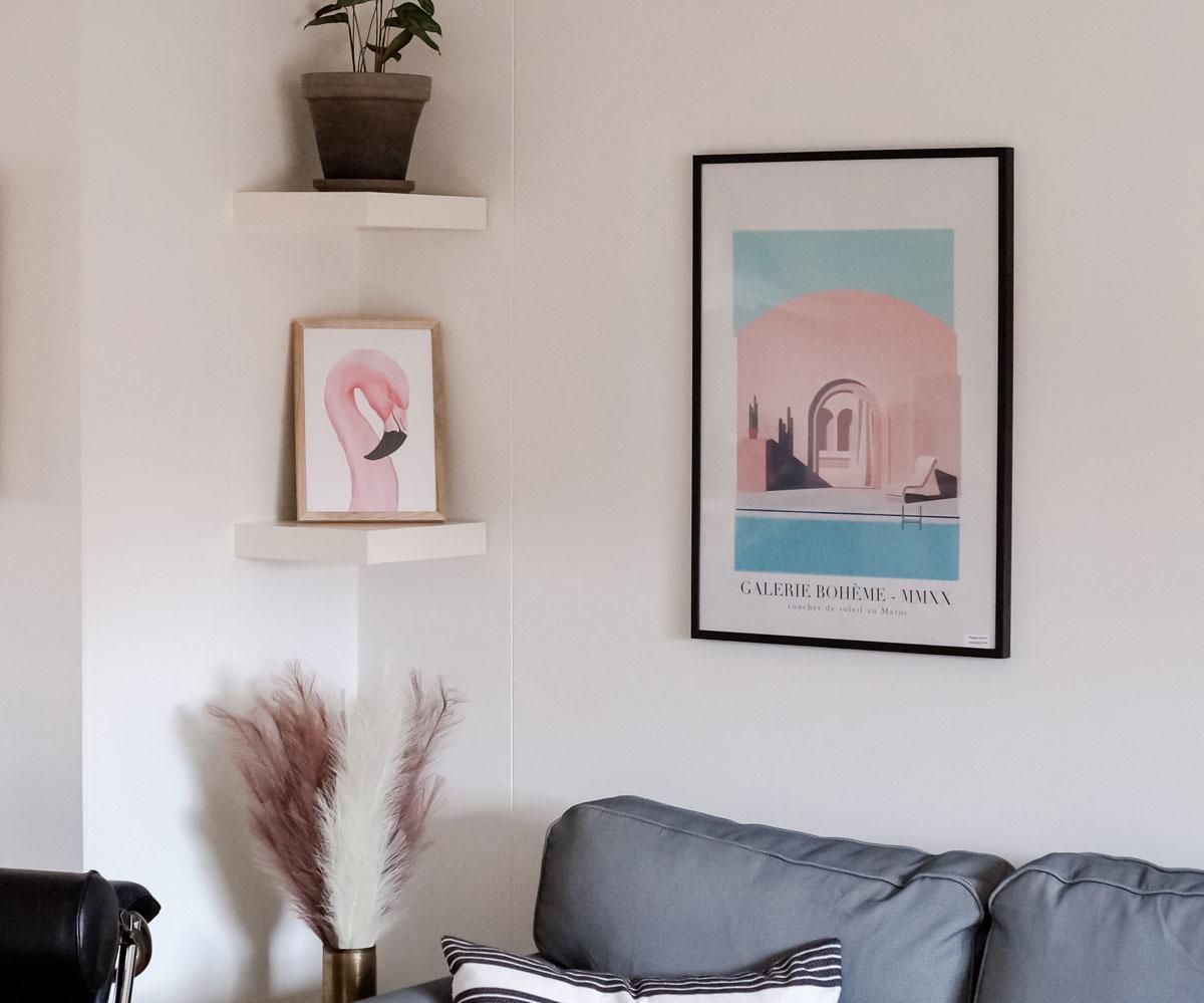 desenio, moroccan dusk, indretning, bolig, boligblog