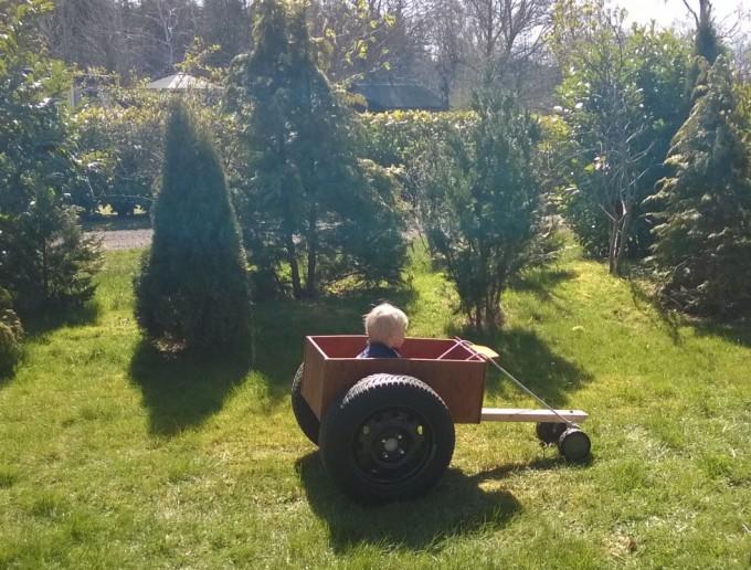 morfar bygger