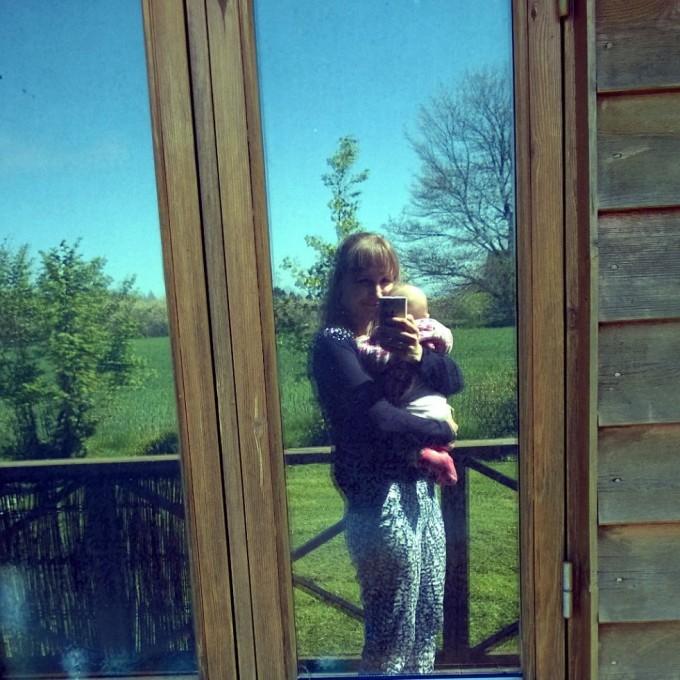 Sommerhus og baby