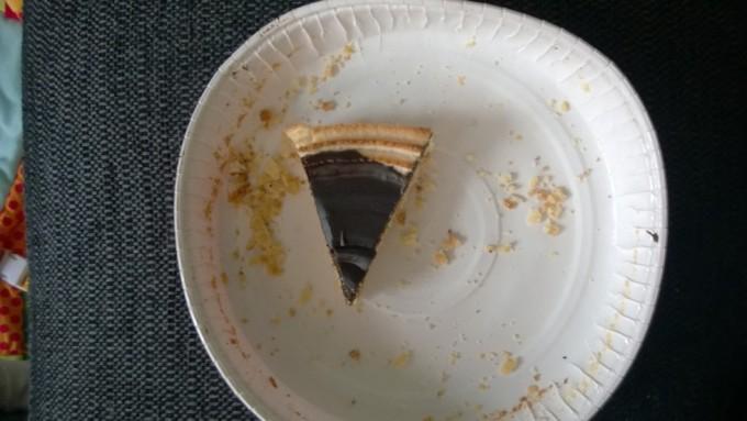Som trøst spiste jeg lige lidt mere kage. Tre stykker om dagen er vel ikke for meget. Kageform er jo også en slags form.