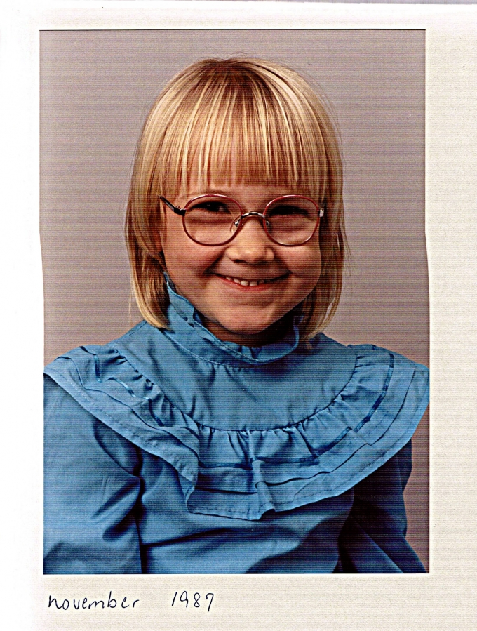 Lille Frøken Brilleabe