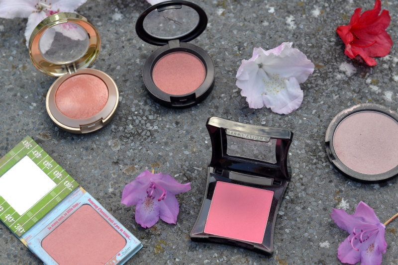 5 favorite blushes