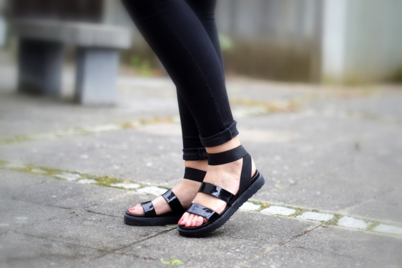 wrap around sandals asos
