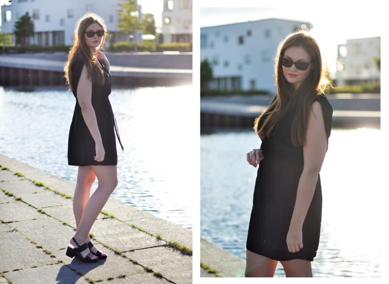 outfit skjorte kjole genbrug