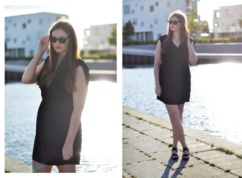 outfit skjorte kjole genbrug1