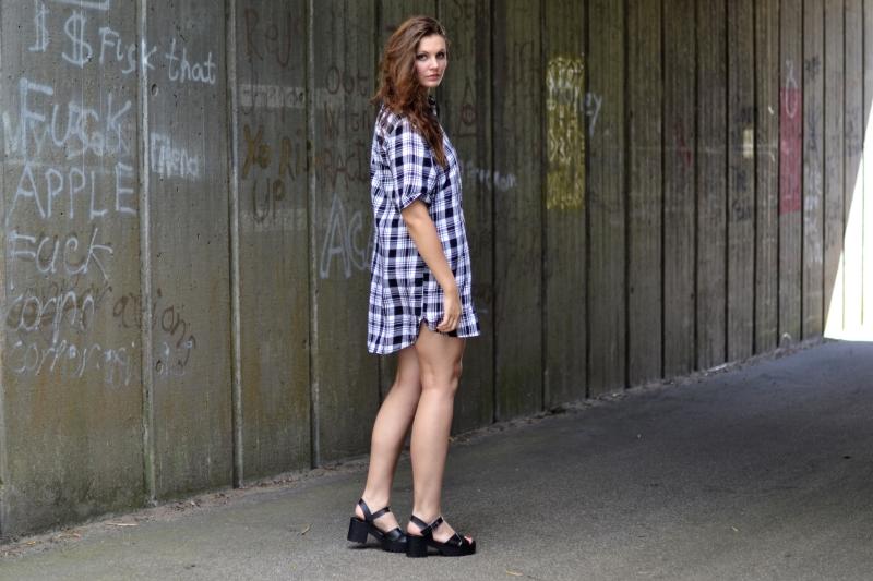 outfit kort skovmandsskjorte kjole2