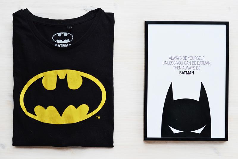 batman favorites t-shirt poster