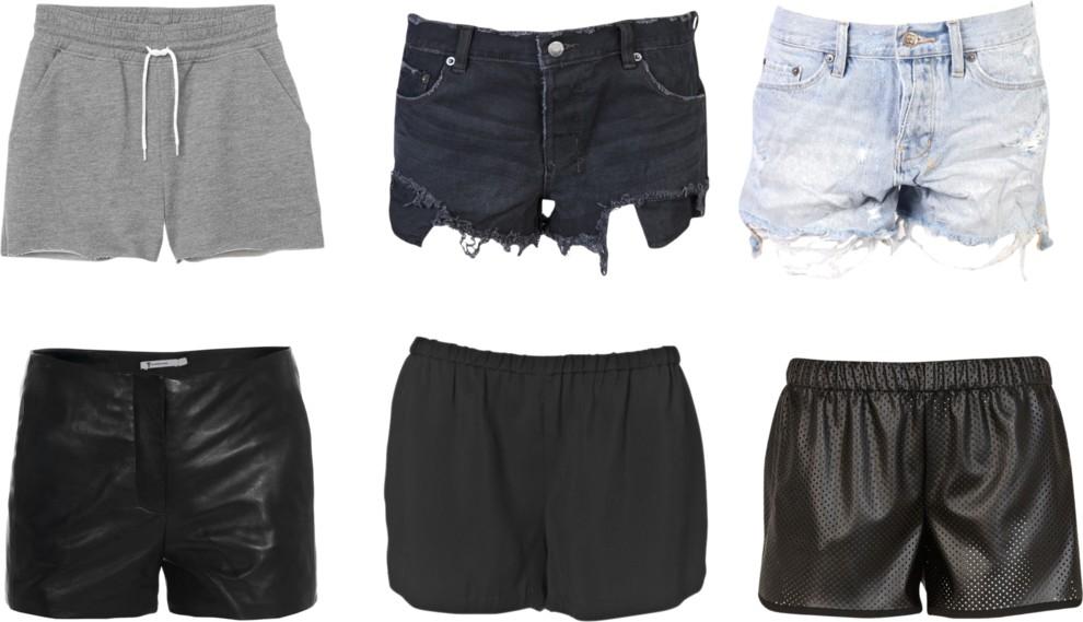 6 pairs of shorts