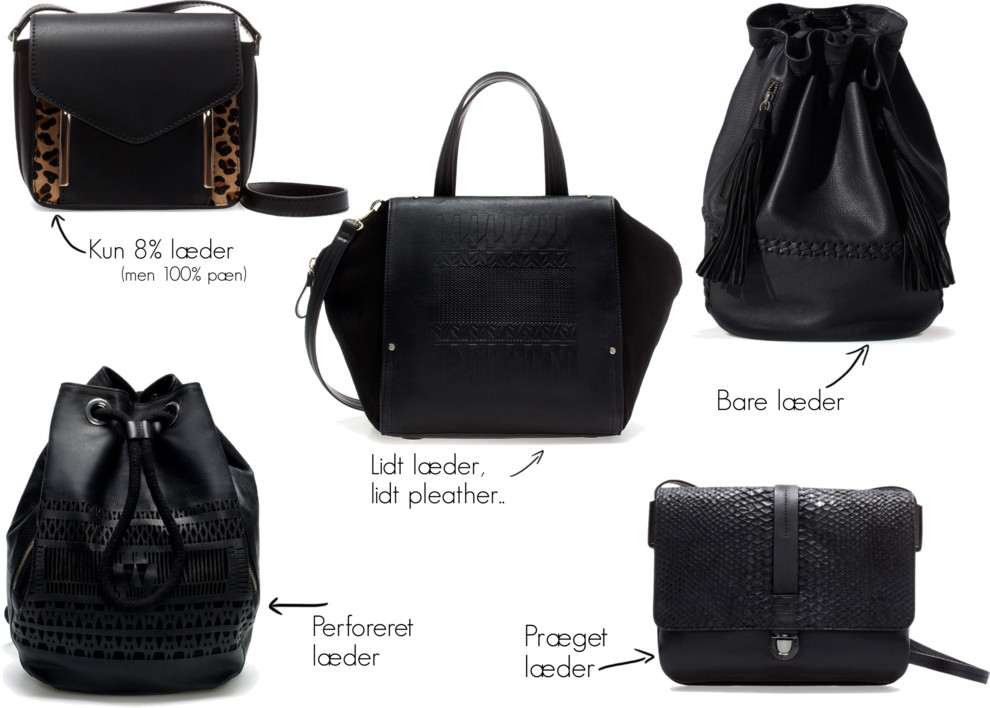 Leather bags @Zara