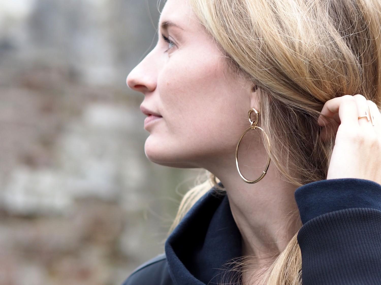 Hvisk tube earrings