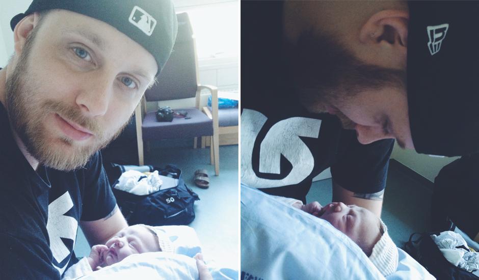 Vilja og far for første gang