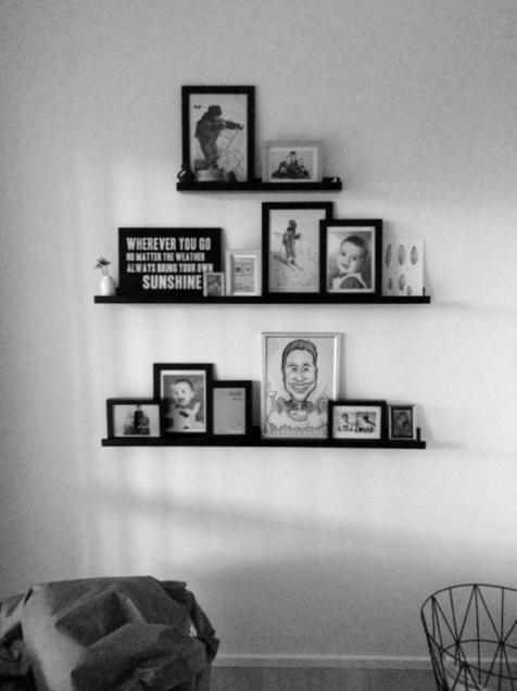 inspiration til billeder på væggen