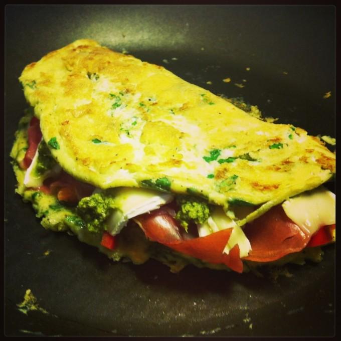 omelet færdig