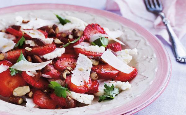 jordbærcarpaccio