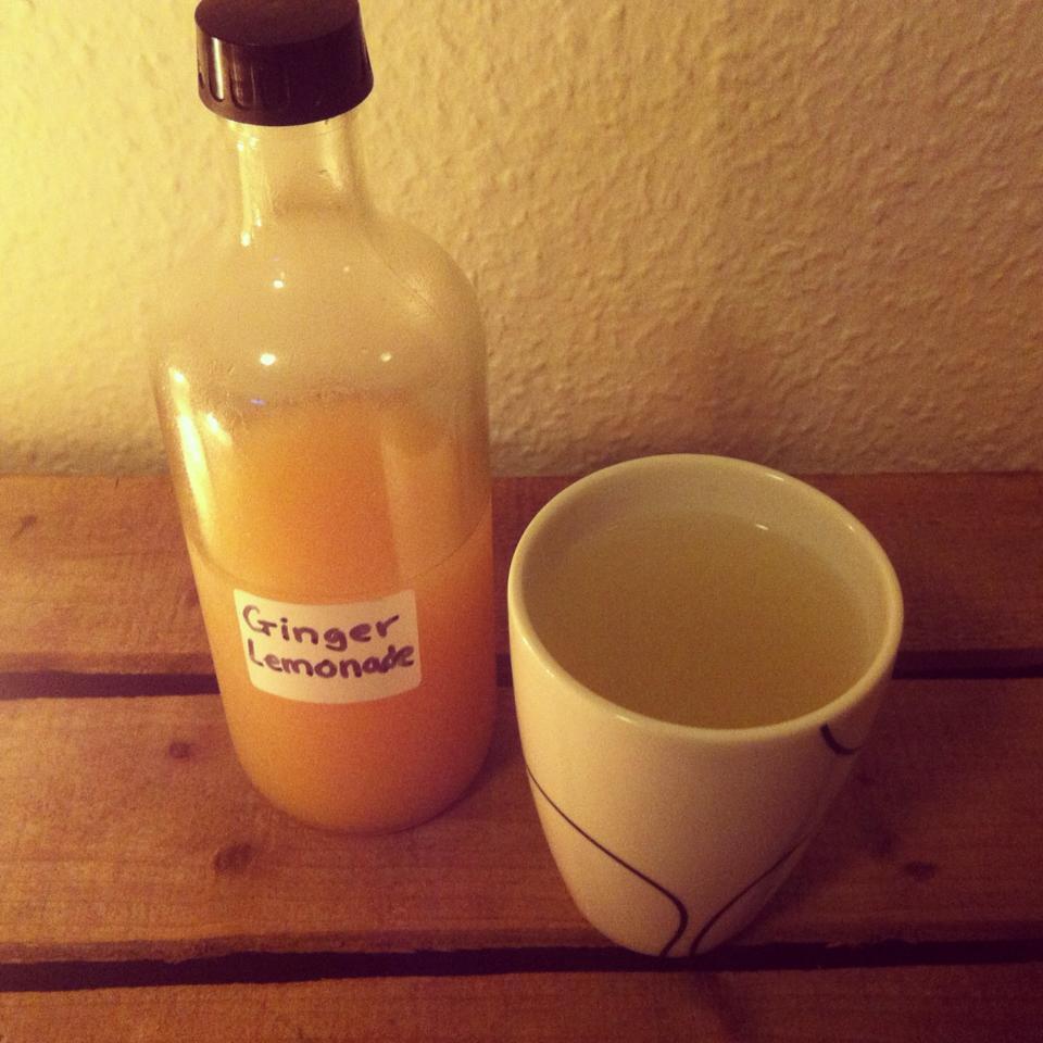 ingefær lemonade