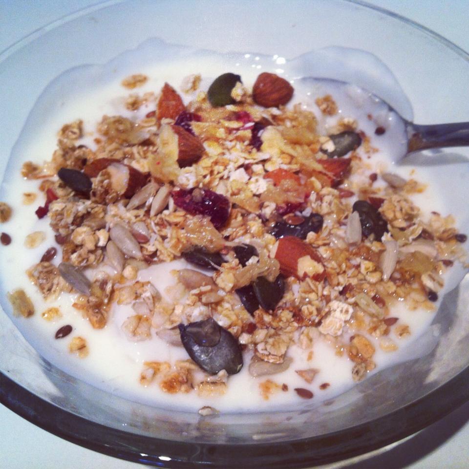 ingefær morgenmadsmåltid