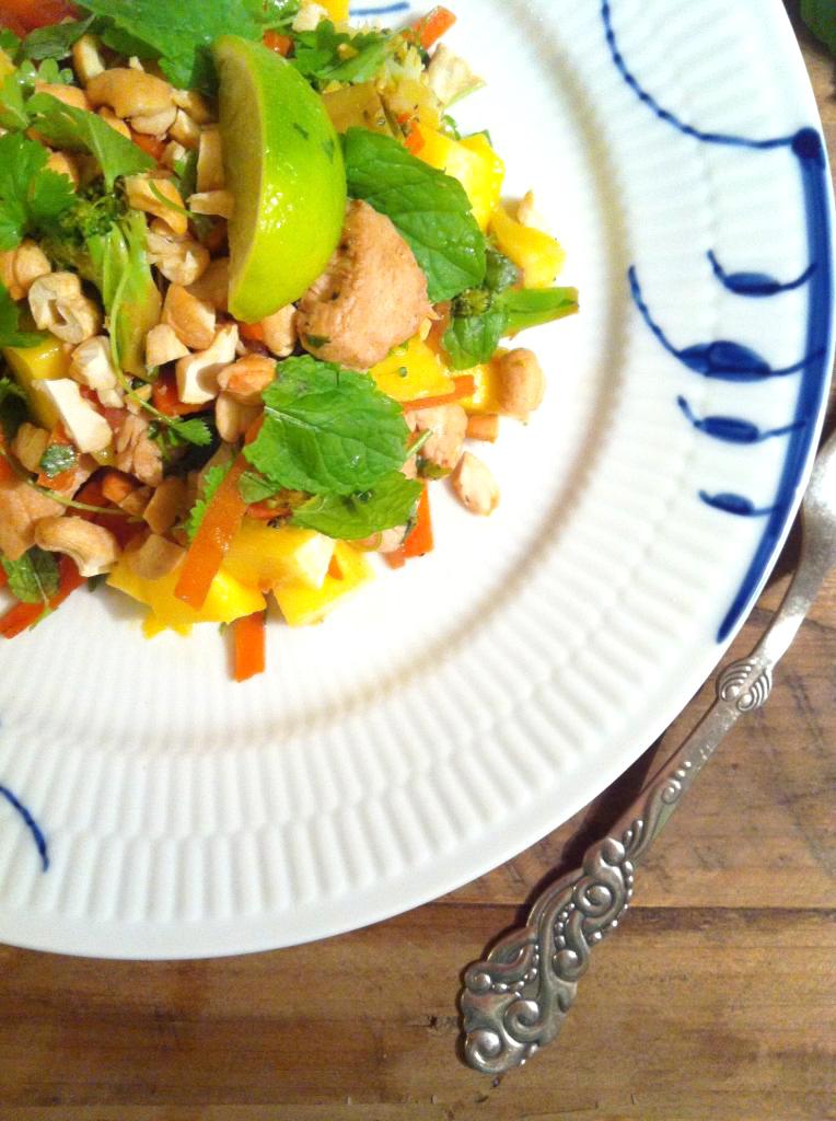 vitenamesisk-salat