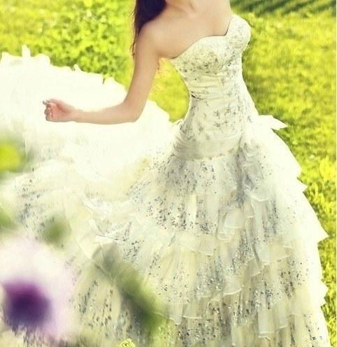 robe de mariage de la Vierge bustier longue