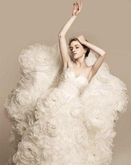 robe de mariage des Poissons longue