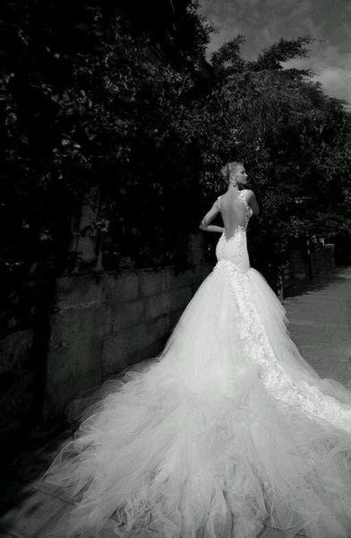 robe de mariage du Cancer longue dos nu