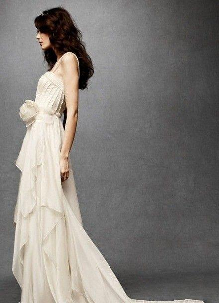 robe de mariée du Capricorne bustier