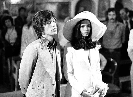 Bianca Jagger Robe de mariée