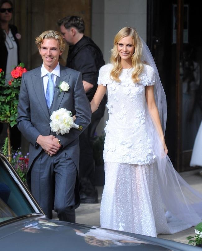 Célèbres Robe de mariée pour célébrité Poppy Delevingne