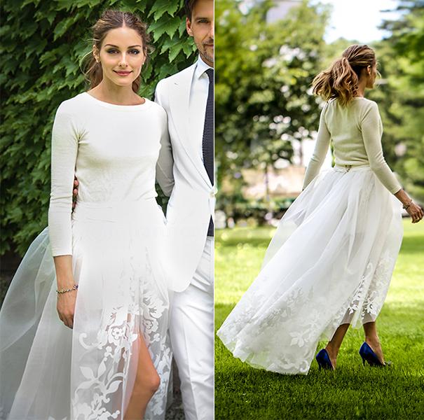 Célèbres Robe de mariée pour célébrités Olivia Palermo