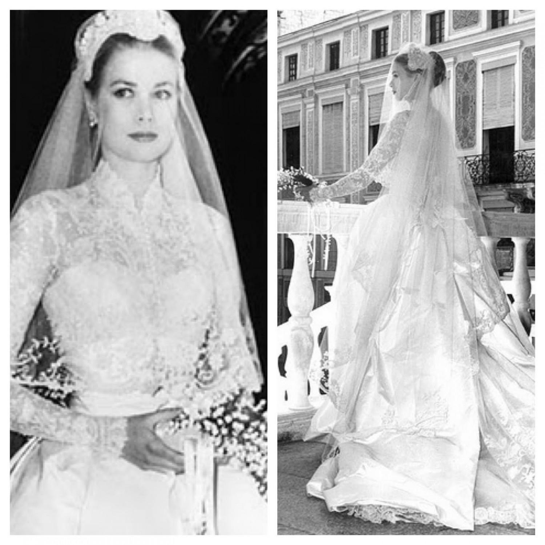 Robe de mariée de célébrités Grace Kelly