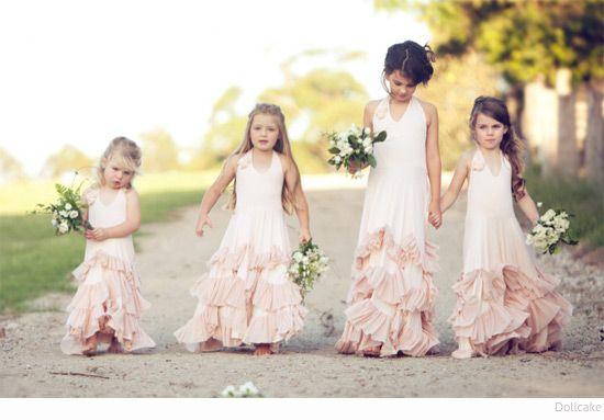 Robe cortège les filles