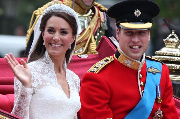 Kate Middleton & Prince William 2011 mariage