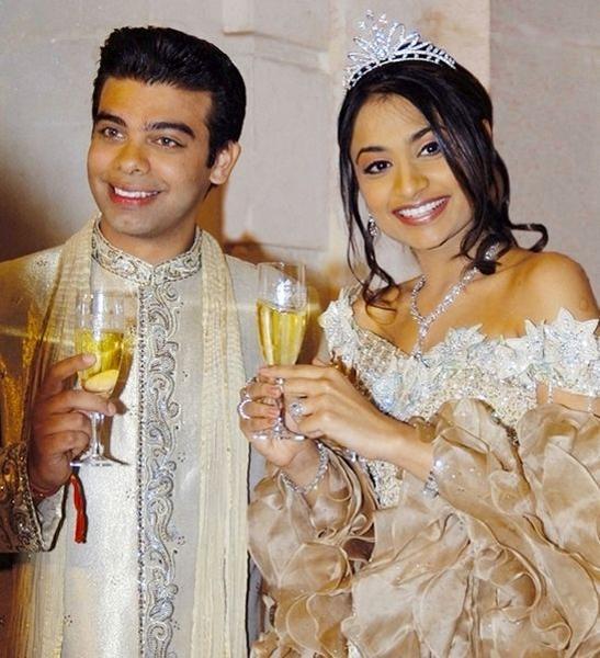 mariage Vanisha Mittal & Amit Bhatia