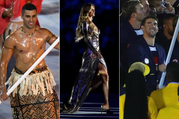2016 Rio Olympiques la cérémonie d'ouverture