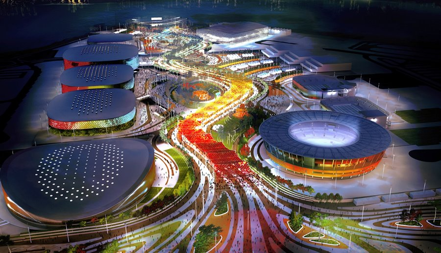 the Rio Olympics Opening Ceremony