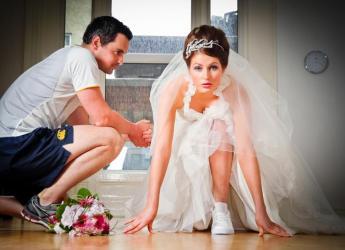 Corps en forme de mariée