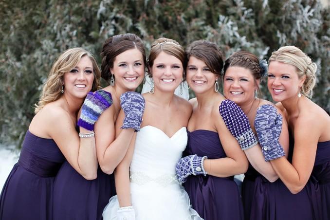 hiver-mariage-en-robe-violet
