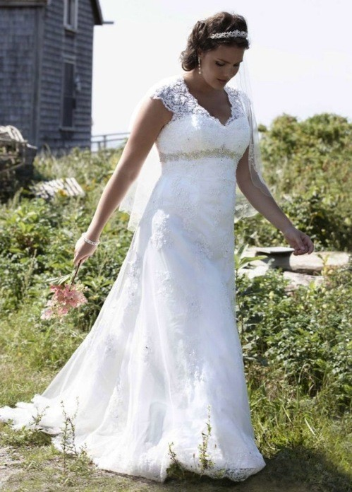 robe-mariage-grande-taille