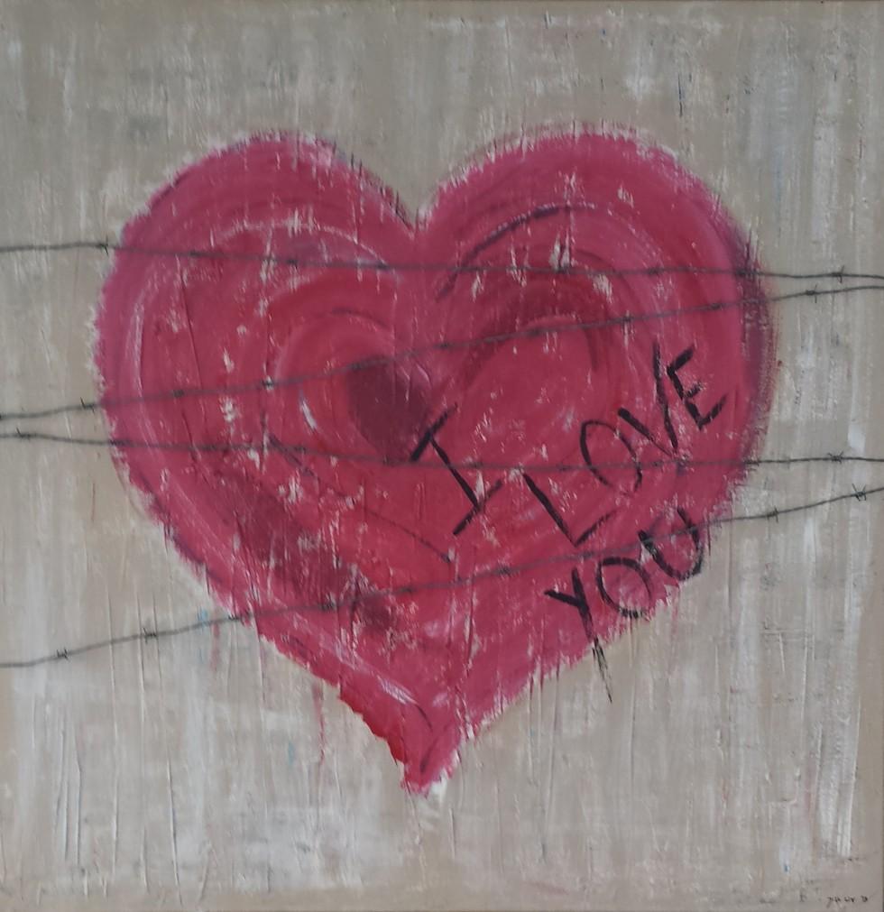 I LOVE YOU.......NO MORE
