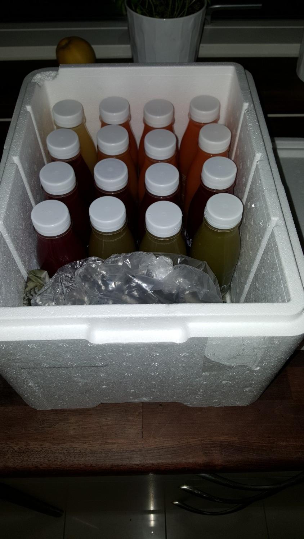 Juice i kassen