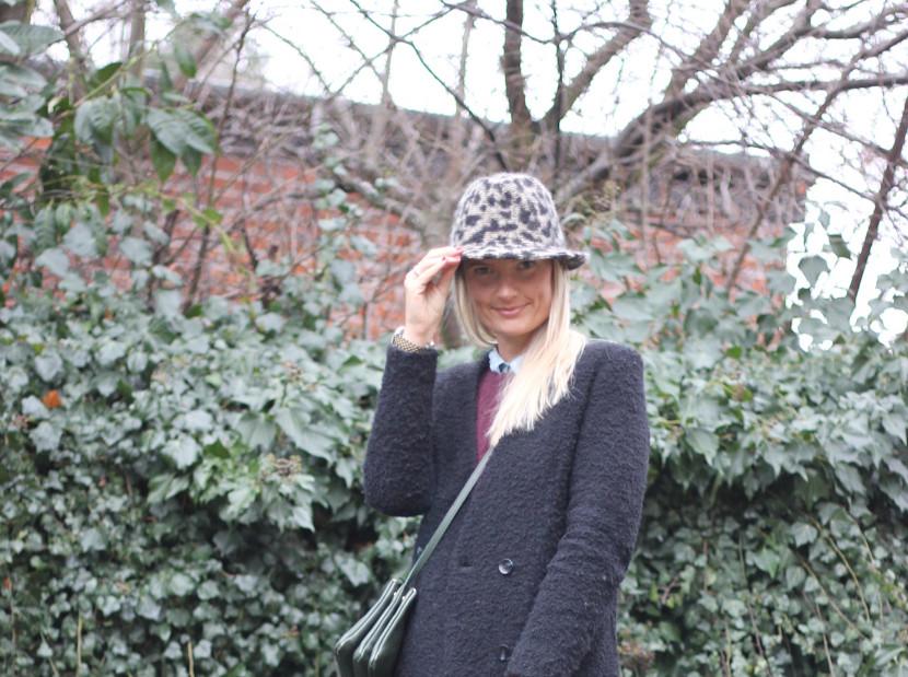 ZARA LEOPARD HAT