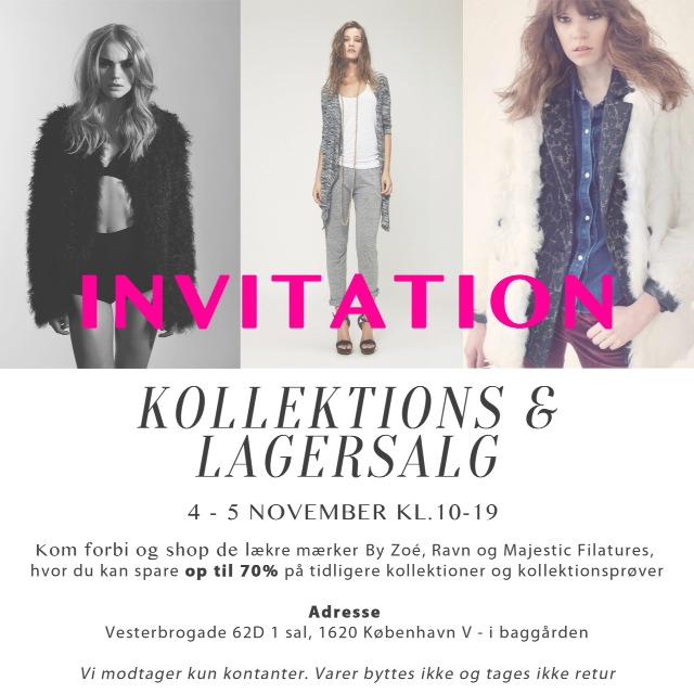 Invitation, Lagersalg
