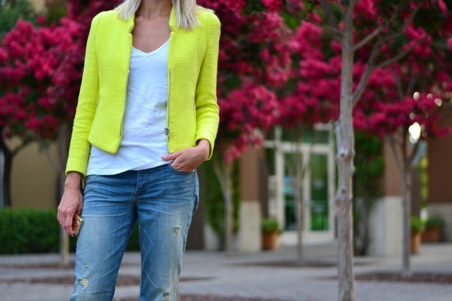 Zara - American Eagle Boyfriend Jeans - Toms Espadrilles3