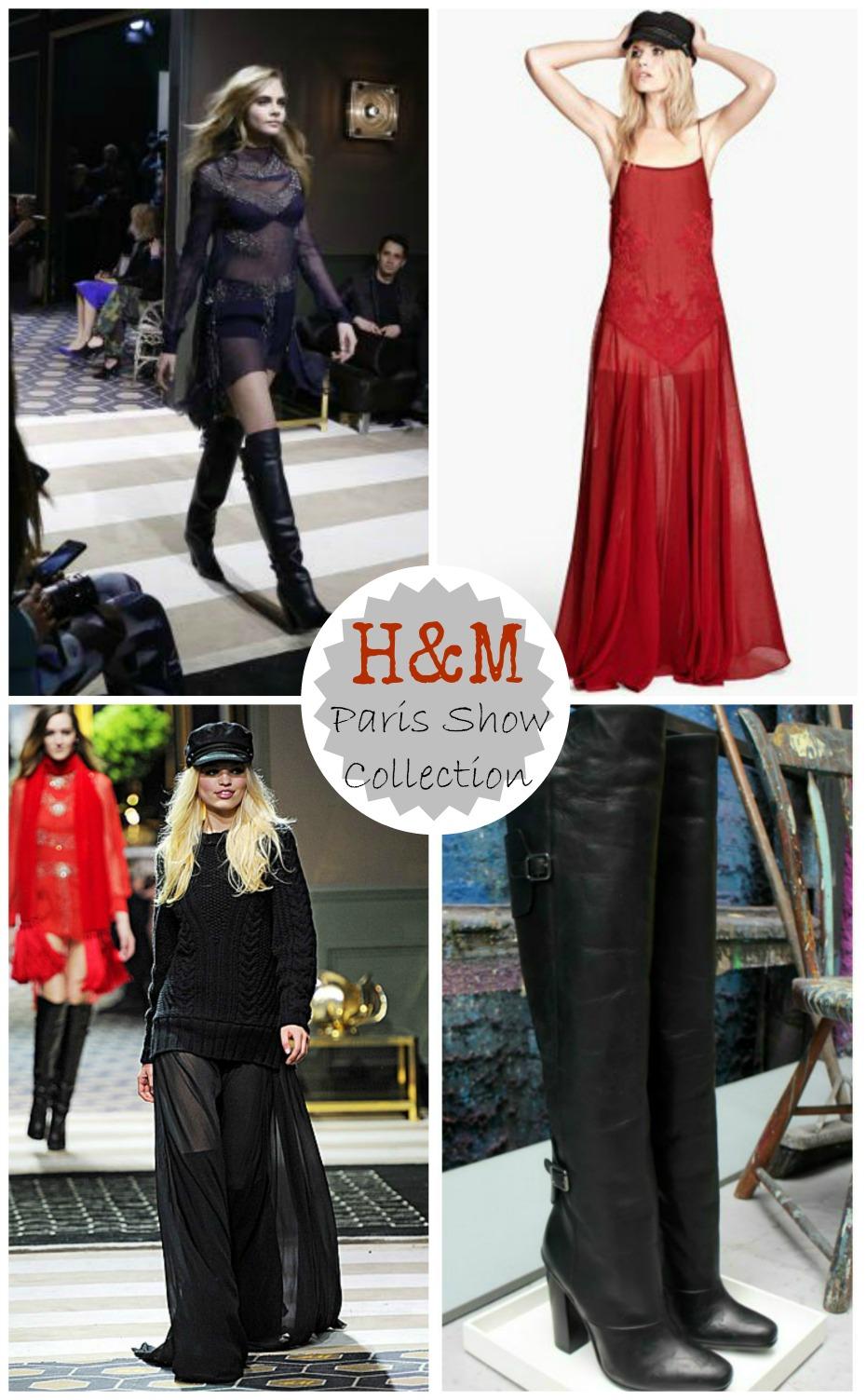 h&m paris show collection