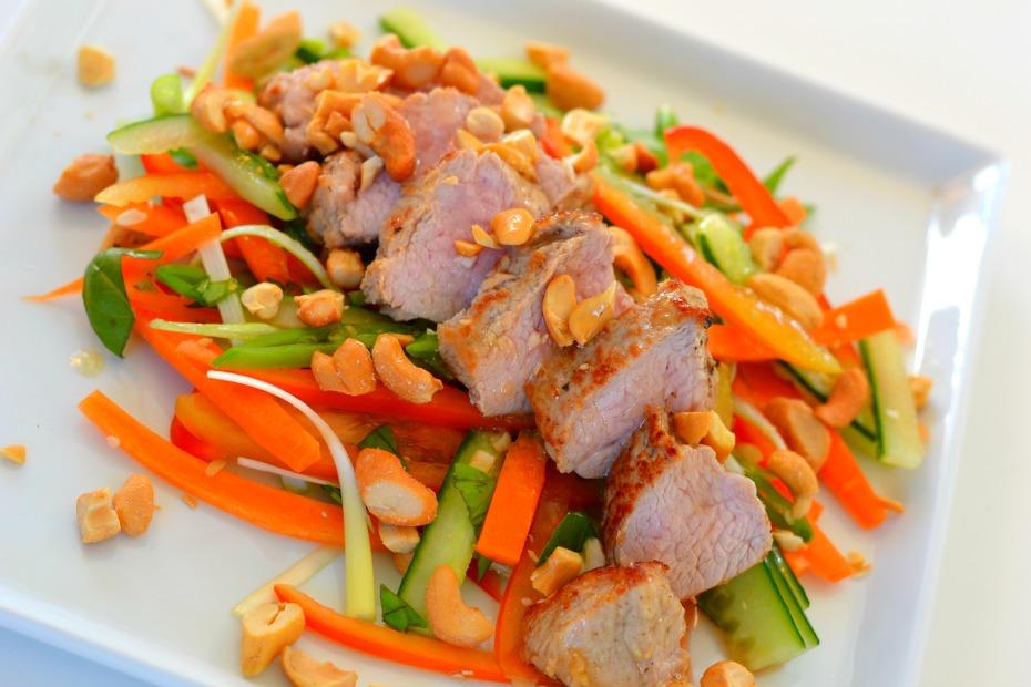 Recipe - Asian salad