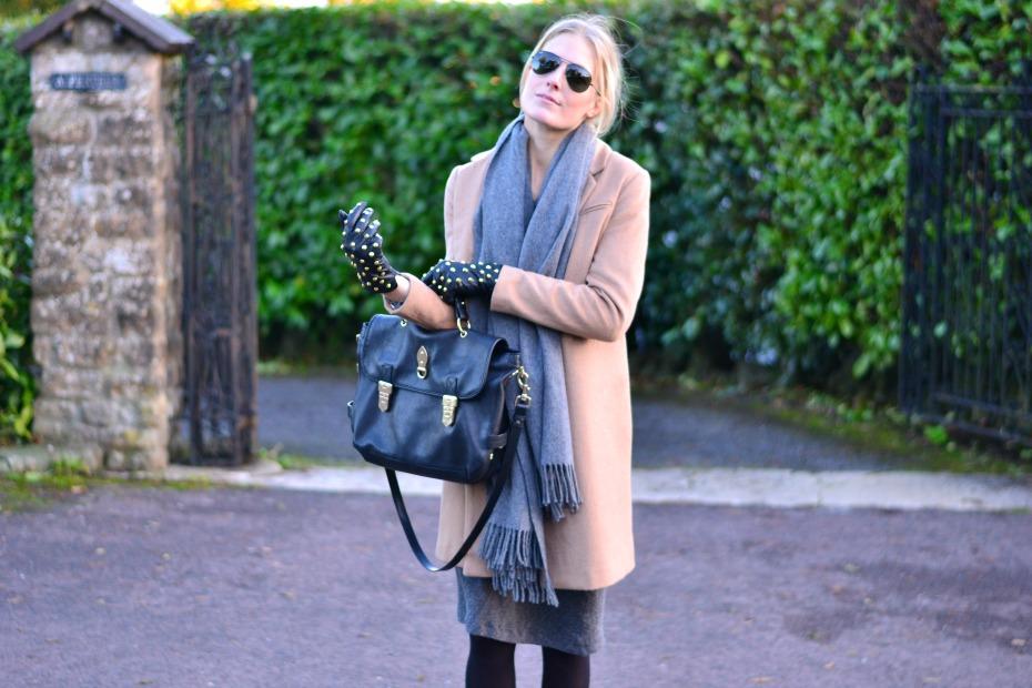 camel coat_isabel marant dress_mulberry bag