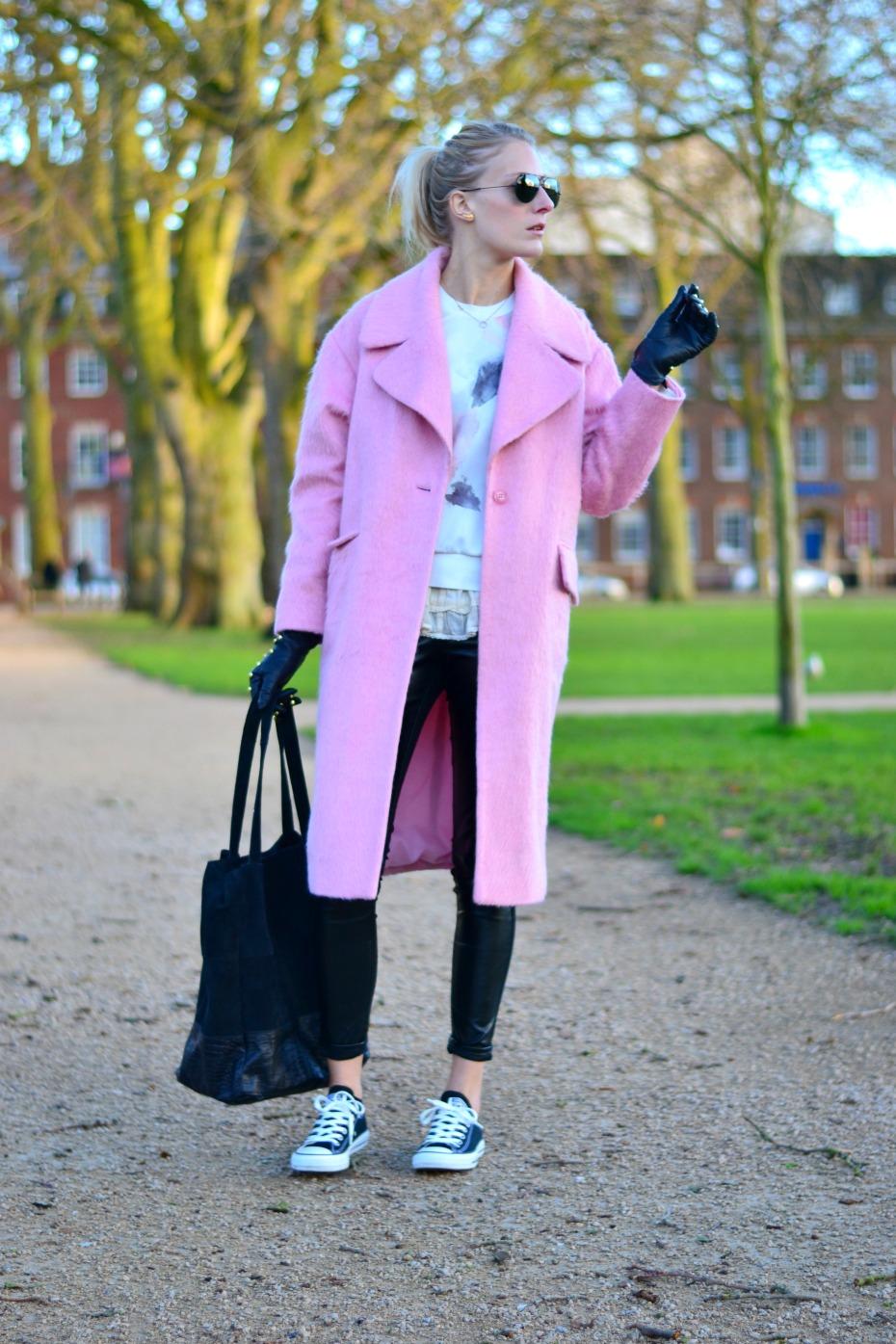 zara_asos pink coat_blac lily