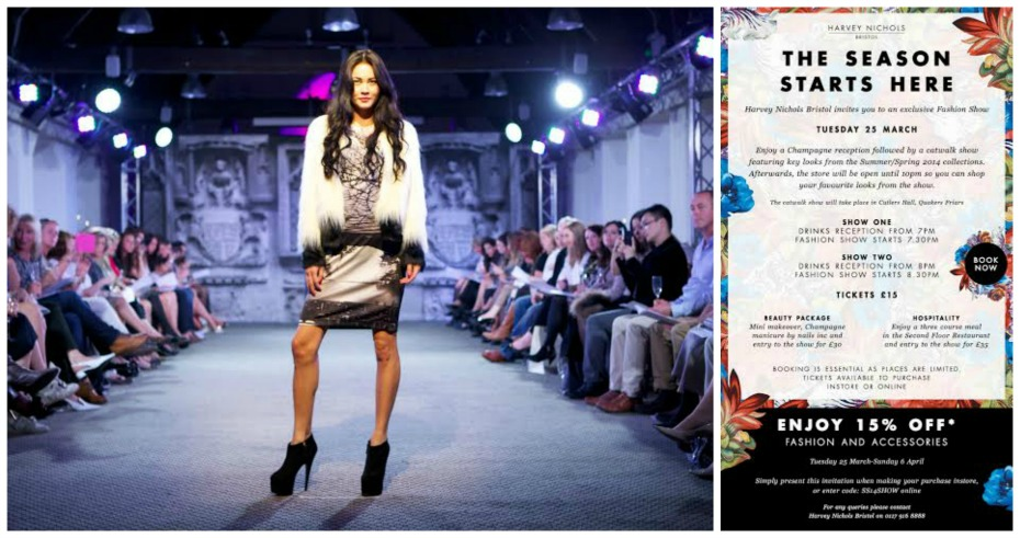harvey nichols fashion show