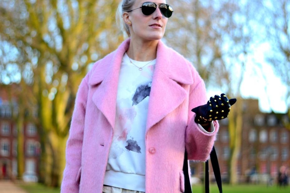 zara_asos pink coat_blac lily1