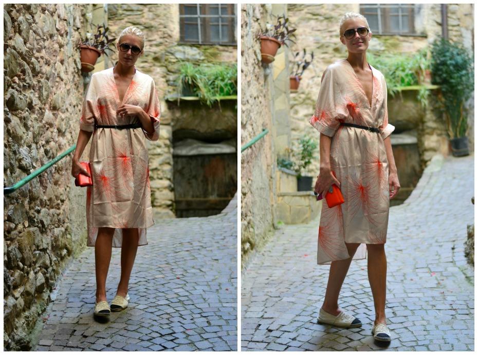 frontrow kimono_chanel espadrilles_mulberry wallet3